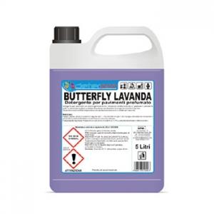 butterfly lavanda
