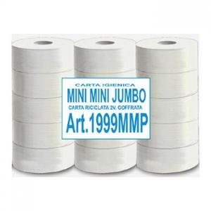 Carta igienica mini mini jumbo eco